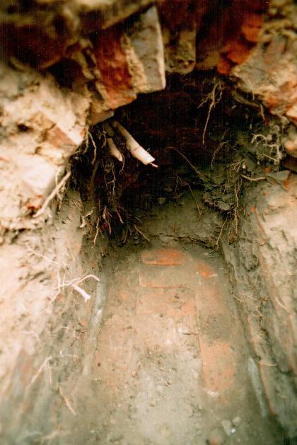 Подземный ход в Вистычах. Из архива А.Гладыщука