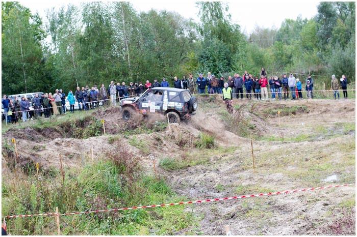 Евротриал в деревне Клейники в районе песчаного карьера 26 сентября