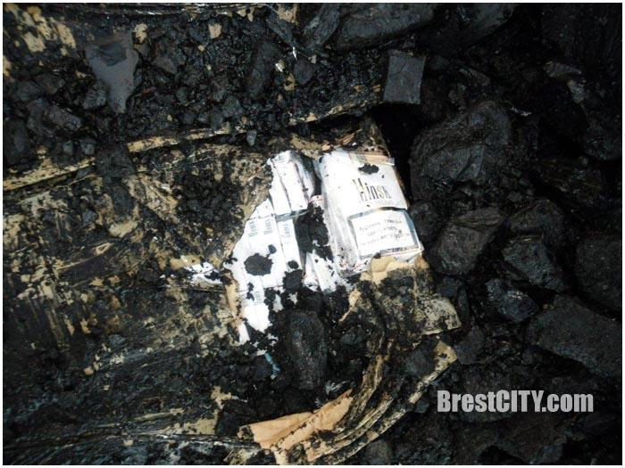 Контрабанда сигарет в вагоне с углем