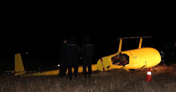 Падение вертолета в Кобринском районе