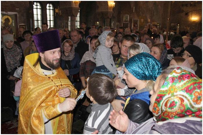 Виталий Хоновец - настоятель свято-николаевского Гарнизонного собора в Брестской крепости