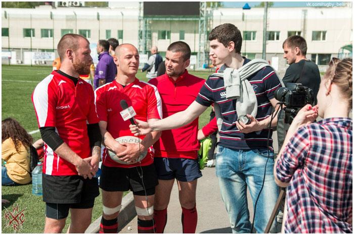 Брестские регбисты участвовали в соревнованиях в Зеленограде