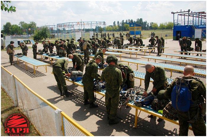 Спорткомплекс в 38-й бригаде десантников Бреста