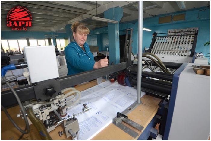 Лидия Ананич посетила Брестскую типографию
