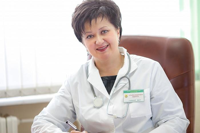 Татьяна Авдейчук. Главврач детской поликлиники