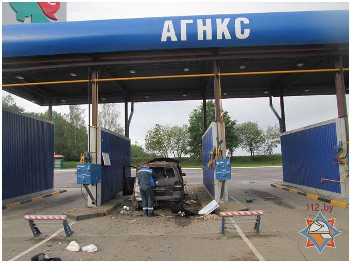 Взорвался газовый баллон при заправке в Барановичах
