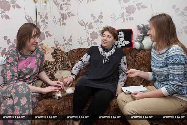 Подарок от Сергея Безрукова девушке-инвалиду из Бреста