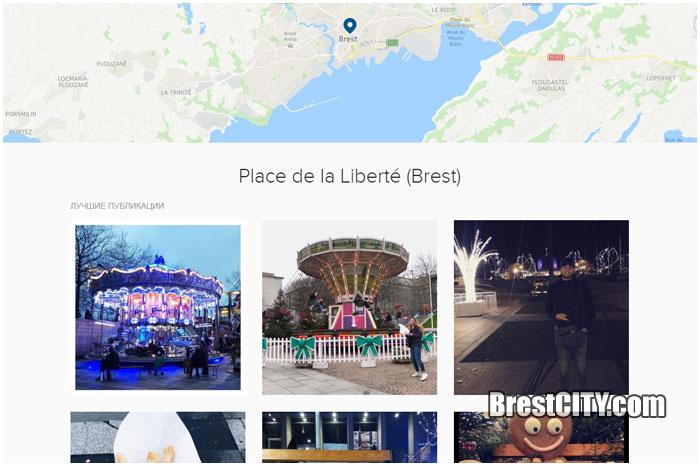 Французский Брест в инстаграме