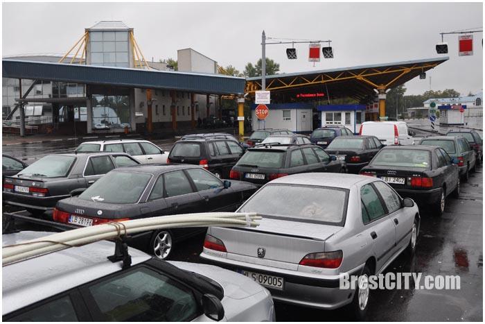 Автодорожный пункт пропуска Брест. Фото BrestCITY.com