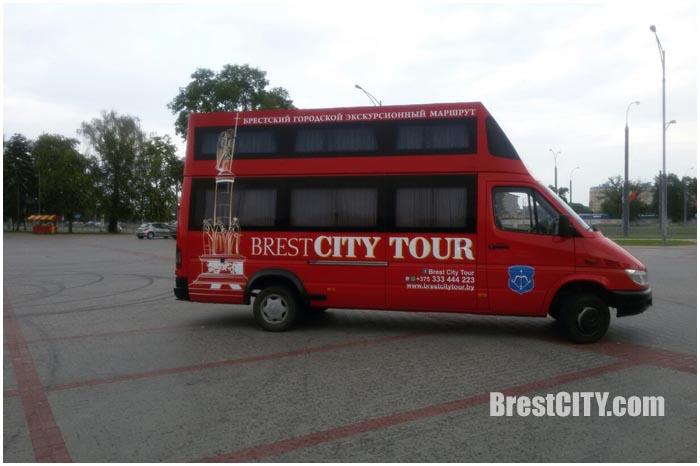 Туристический автобус БресСИТИТур