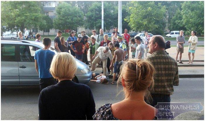 Возле МОПРа в Бресте сбили девушку 2 июня 2016