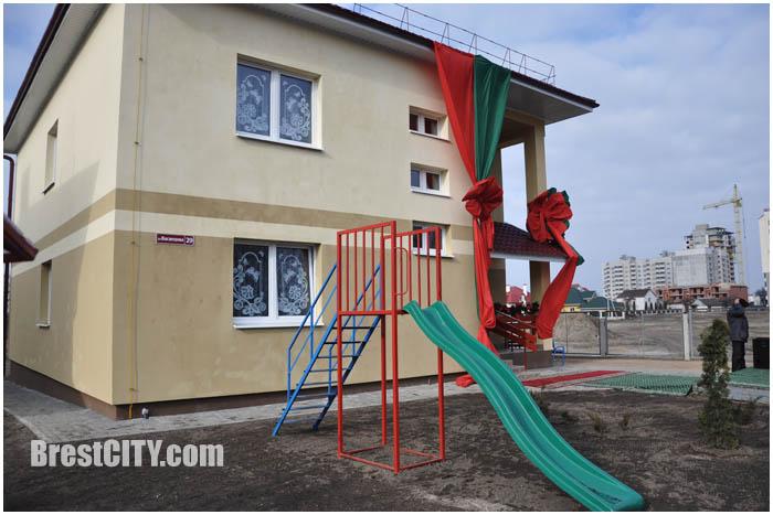 Дом семейного типа в Бресте на улице Васнецова