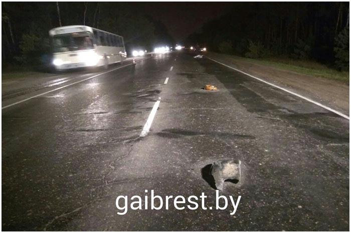 Авария на Березовке в Бресте