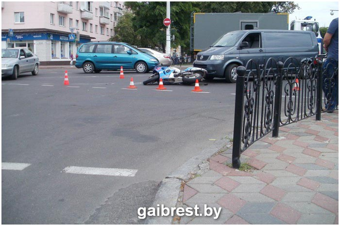 Авария на Ленина-Гоголя