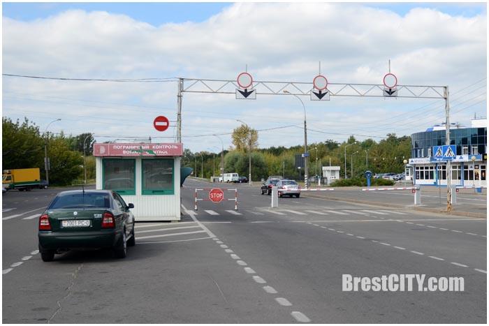 Электронная очередь на границе в Бресте. Фото BrestCITY.com