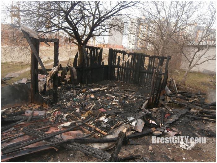 Пожары в Бресте. Март 2016