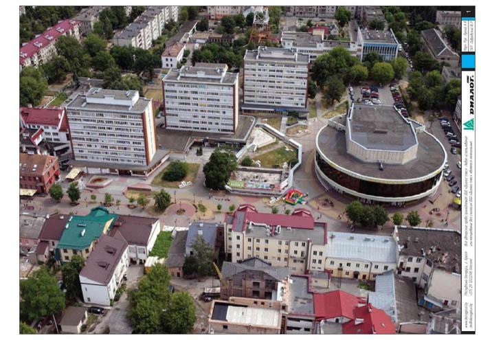 Проекты фонтана на улице Советской в Бресте