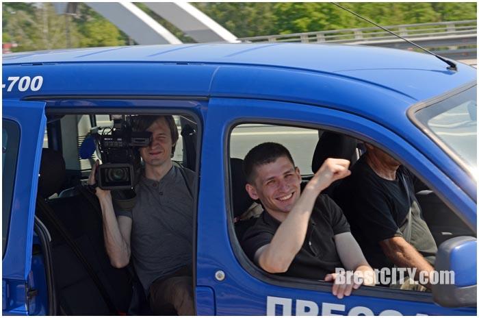 Пробег из Бреста в Тересполь. Дружба 2016. Фото BrestCITY.com