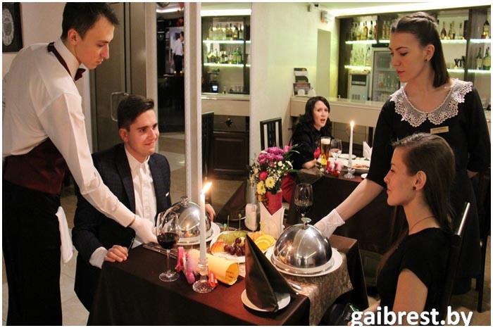 Романтический ужин на двоих от брестской Госавтоинспекции