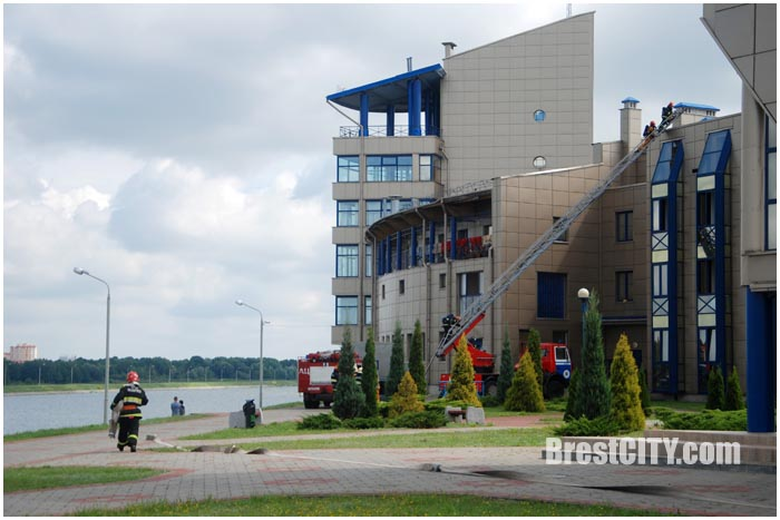 Учения МЧС на Гребном канале 11 августа. Фото BrestCITY.com