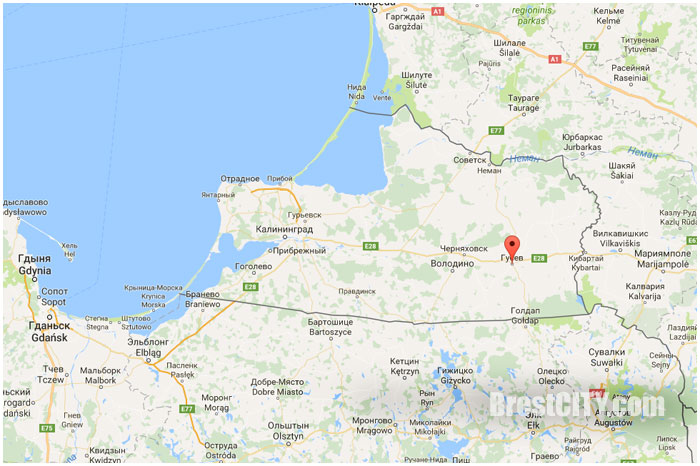Где находится город Гусев Калиниградская область
