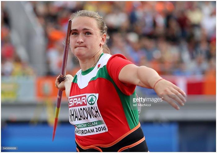 Татьяна Холодович - чемпионка Европы. Метание копья