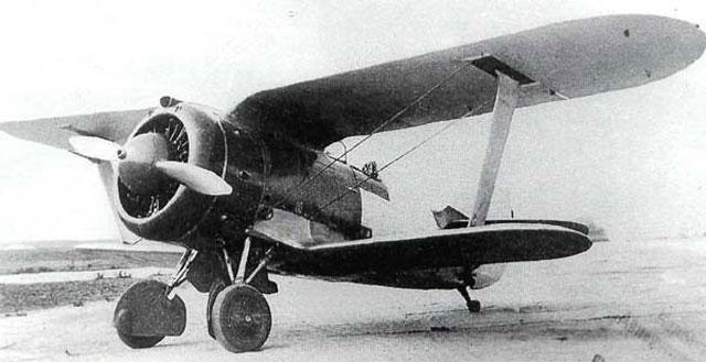 Сбитый советский самолет в Кобринском районе