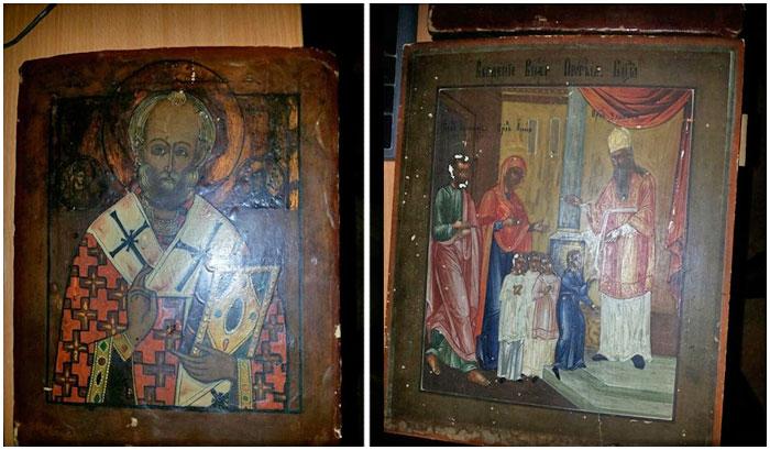 Похитителей икон задержали в Бресте