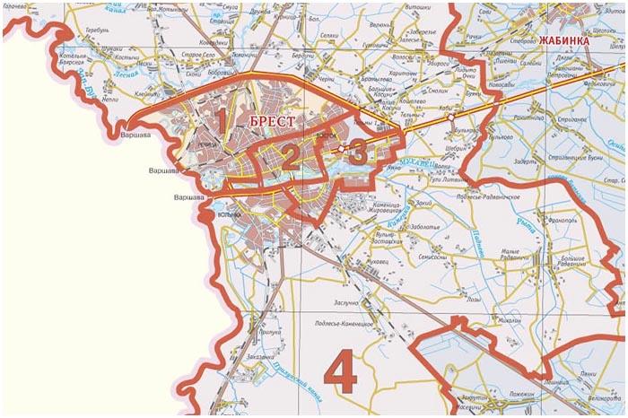 Избирательные округа Брестской области
