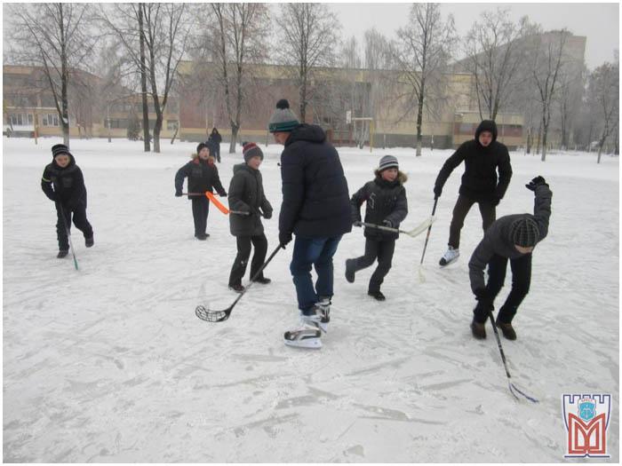 Ледовые катки в Московском районе Бреста