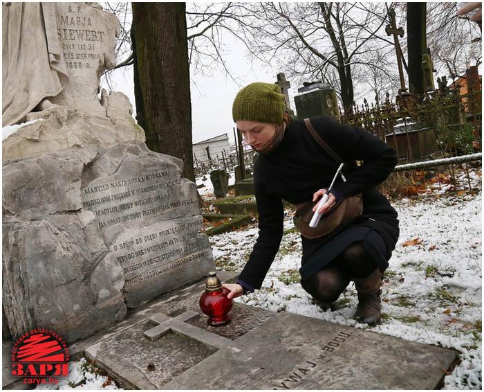 Католическое кладбище в Бресте на ул.Пушкинской