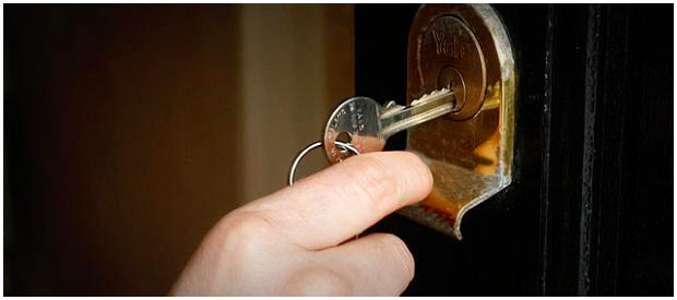Ключи от дверей. Замок