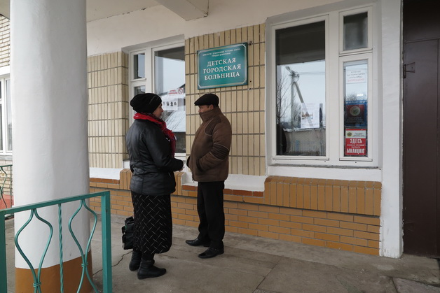 Конфликт с контролерами в городе Барановичи