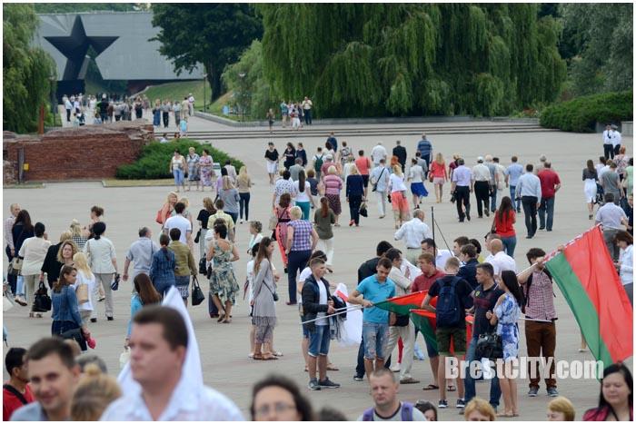 День Независимости в Бресте 3 июля 2016. Фото BrestCITY.com