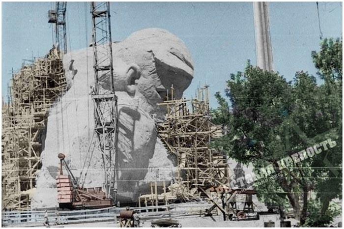 Строительство мемориала Брестская крепость-герой