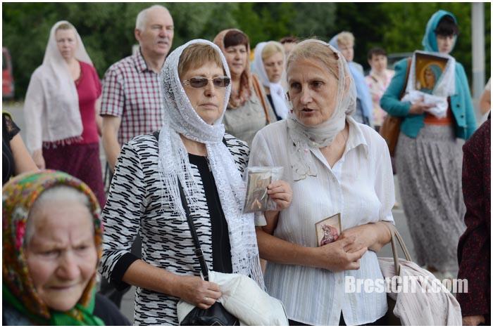 Крестный ход в Бресте 10 июля 2016. Фото BrestCITY.com