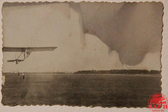 Могила польского летчика в Бресте