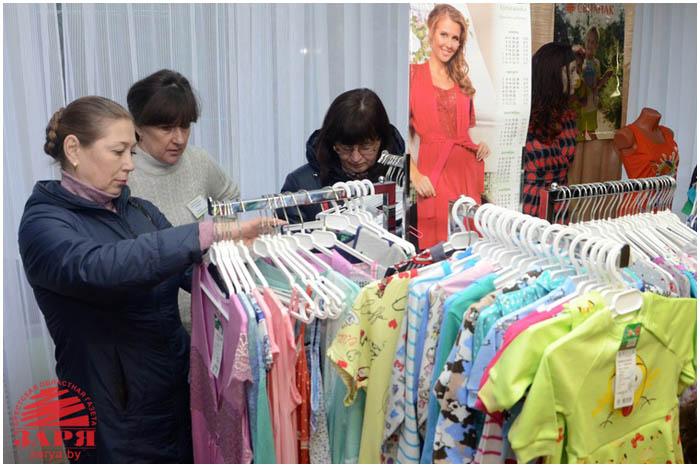 Выставка товаров легкой промышленности в Бресте 11 февраля 2016