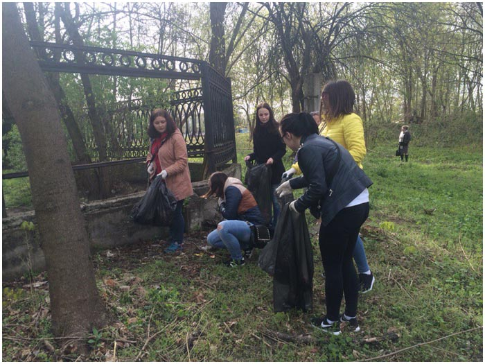 Субботник 23 апреля в Ленинском районе Бреста