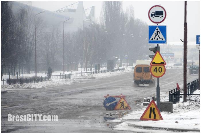Улицу Ленинградскую в Бресте открыли. Фото BrestCITY.com