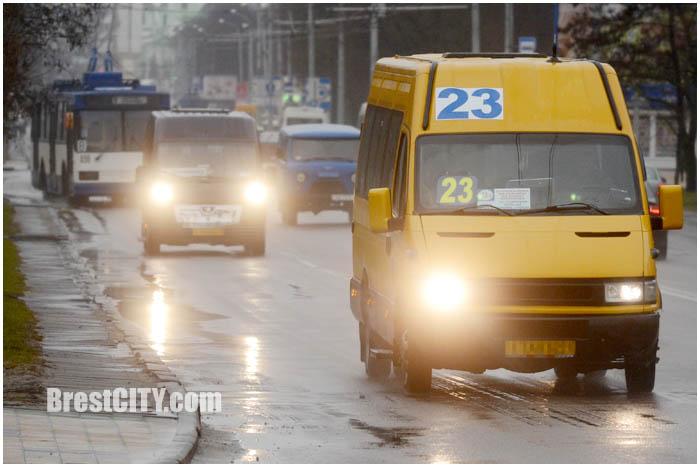 Маршрутные такси Бреста. Расписание
