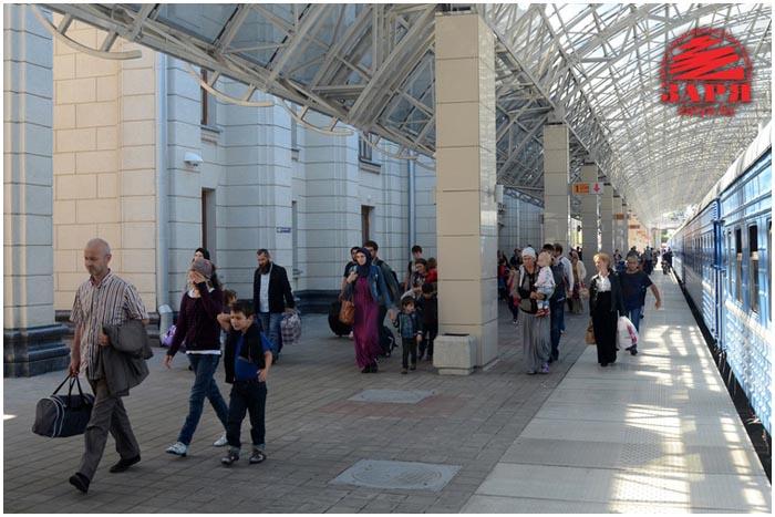 Мигранты и беженцы в Бресте