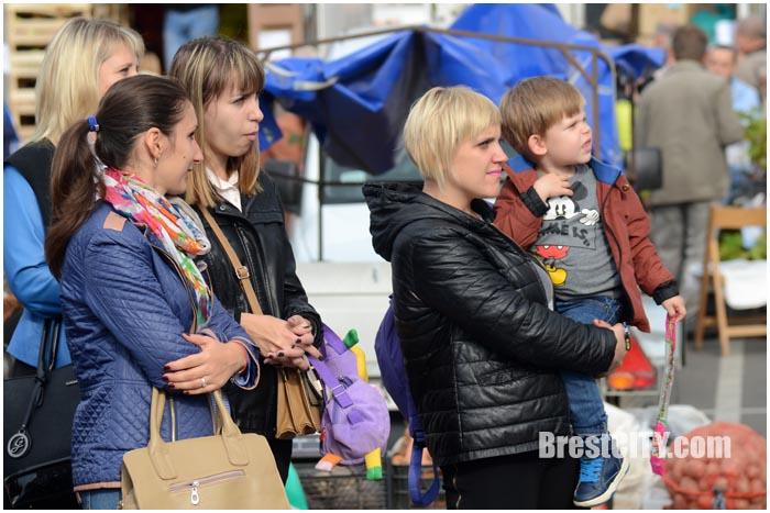 Праздник Московского района в Бресте 1 октября 2016. Фото BrestCITY.com