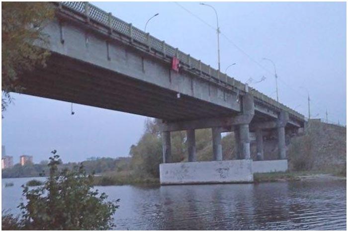 Мост на бульваре Шевченко в Бресте