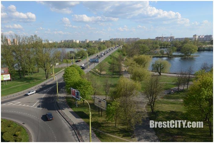 Мост по бульвару Шевченко в Бресте. Фото BrestCITY.com