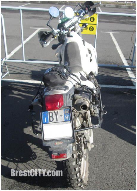 У итальянцев на границе задержали мотоциклы