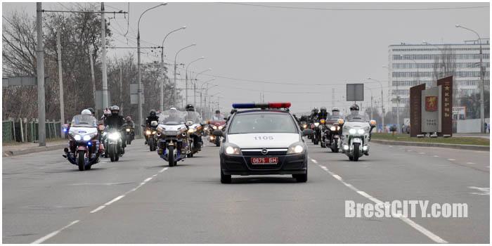 Открытие мотосезона 2016 в Бресте. Фото BrestCITY.com