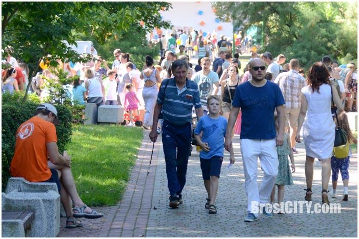 МайБэби-Фест в парке 28 августа 2016. Фото BrestCITY.com