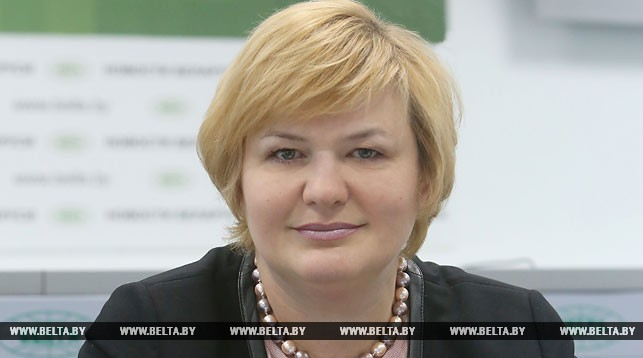 Заместитель министра торговли Ирина Наркевич