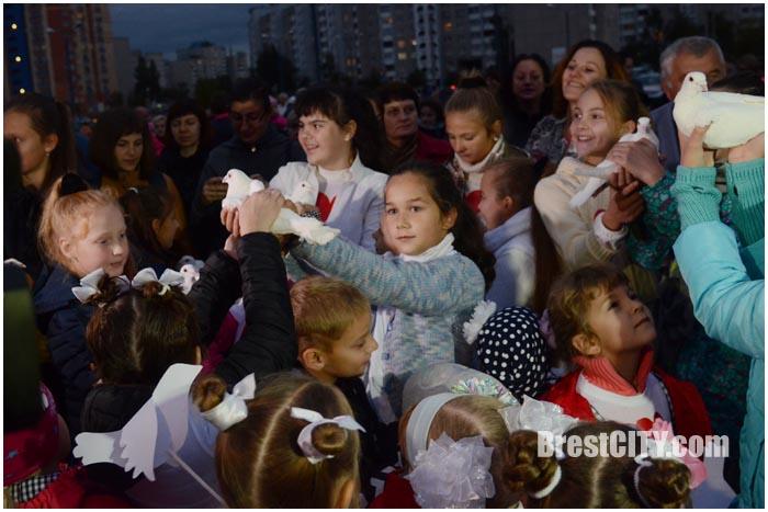 День мира в Бресте на гребном 21 сентября 2016. Фото BrestCITY.com